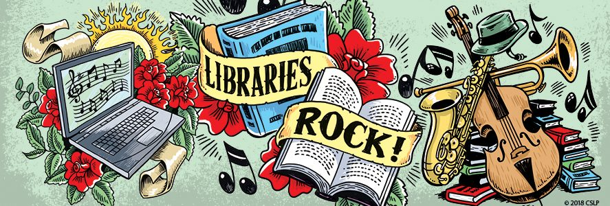 Libraries Rock 2018 Summer Reading Program
