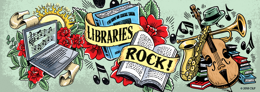 Libraries Rock 2018 Summer Reading Program